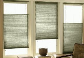 Plisseeritud žalusiid standardsetele akendele, juhitavad nööriga - 15 tüüp