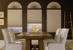 Plisseeritud žalusiid ümmargustele akendele - 12 tüüp