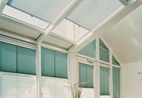 Plisseeritud žalusiid kolmnurksetele akendele - 13 tüüp