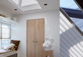 Plisseeritud žalusiid standardsetele katuseakendele ja talveaedadele, juhitavad käepideme abil - 5 tüüp