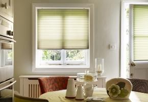 Plisseeritud žalusiid standardsetele akendele, juhitavad käepideme abil - 1 tüüp