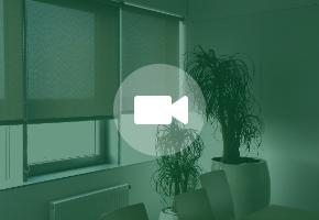 Roletai su SCREEN audiniu - modernus sprendimas biurams