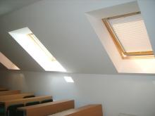 Plisuotos žaliuzės stogo langams