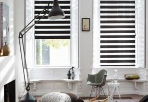 Universalus langų dekoro sprendimas  ir NAKČIAI, ir DIENAI