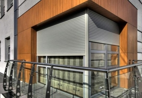 Roller shutters integrated into the wall  INTEGRO