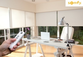 Automatinis langų uždengimų valdymas – maksimaliam komfortui