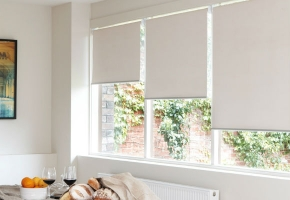 Roller blinds TWIN and TRIO