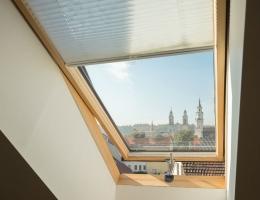 DOMUS LUMINA žaliuzės puošia buto Kauno senamiestyje langus