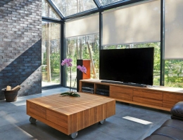 Роллеты Screen это практичное решение для занавешивания окон дома