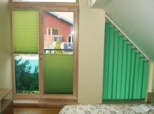 Vertikalios ir plisuotos žaliuzės