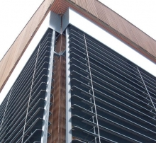 Fasado horizontalios žaliuzės
