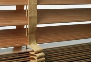 Żaluzje drewniane poziome