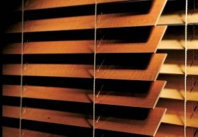 Żaluzje drewniane poziome ISO