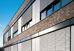 Żaluzje fasadowe poziome