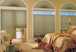 Plisuotos žaliuzės – nestandartiniams langams