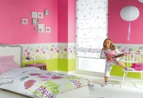 Tinkamiausi langų uždengimai vaikų kambariui