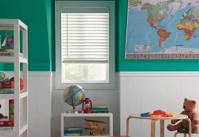 Langų uždengimai vaikų kambariui