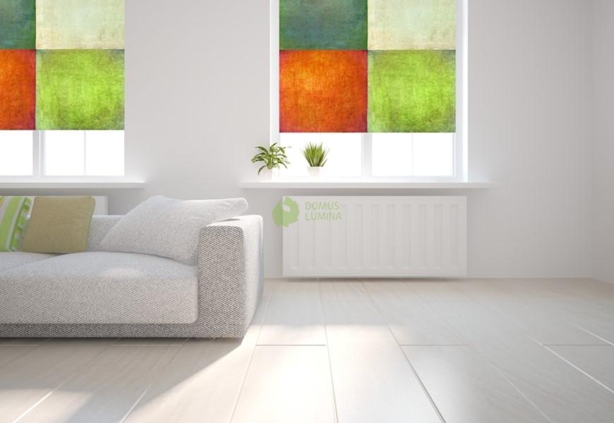 Теперь Вам не нужно выбирать между красотой и функцией ткани. Просто:<br/><br/>  1. Выберите желаемый узор или фотографию –  качество изображения должно быть хорошим!<br/><br/>  2. С учетом пространства Вашей комнаты и необходимой функции роллет, выберите ткань для узора; это может быть стандартная ткань или ткань «Black Out».<br/><br/>  3. Отправьте свой заказ специалистам «DOMUS LUMINA» .<br/><br/>  4. Насладитесь неповторимым украшением на Вашем окне!