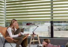 Vaikams saugūs langų uždengimai