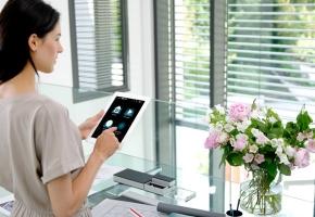 Somfy automatika - valdykite langus elengantiškai