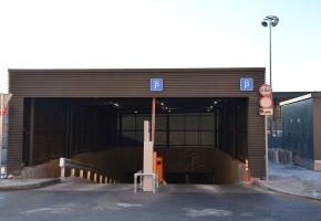 Nowoczesna stacja autobusowa w Kownie wyposażona w stylowe lamele I kratki ochronne Domus Lumina