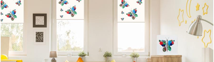 Ar kabinti roletus vaikų kambaryje - praktiškas sumanymas