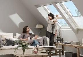 Kaip išlaikyti švarias stoglangių uždangas?