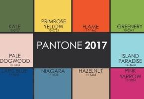 Madingiausios 2017 metų spalvos pagal Pantone