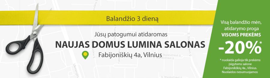 Specialus pasiūlymas  naujojo salono Vilniuje atidarymo proga!