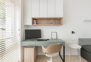 Natūralumas ir funkcionalumas stilingo būsto Užupyje erdvėse