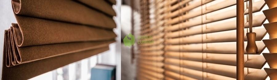 medinės žaliuzės