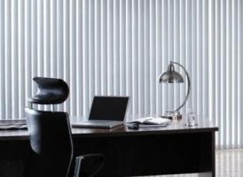 Juostinės užuolaidos – ir biuro, ir namų puošmena