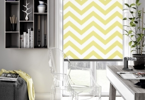 The Fabric Box collection of roller blinds
