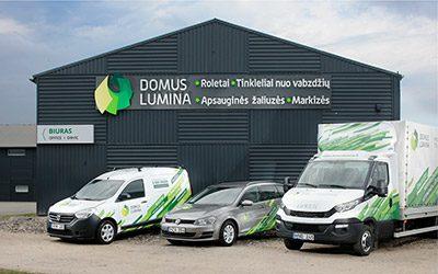 Domus Lumina centrinė būstinė Kauno rajone - Draugystės g. 8C